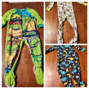 Other - 2T - Footie Pajamas - Set of 3
